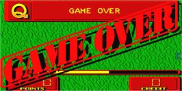Game Over Screen for Monopoly Classic.