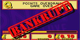 Game Over Screen for Monopoly Deluxe.