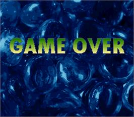 Game Over Screen for More More.