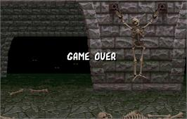 Game Over Screen for Mortal Kombat.
