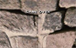 Game Over Screen for Mortal Kombat 4.