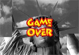 Game Over Screen for Mosaic.
