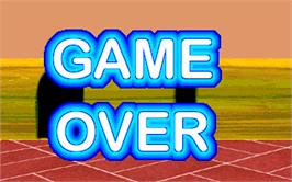 Game Over Screen for Mouse Attack.