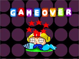 Game Over Screen for Mr. Dig.