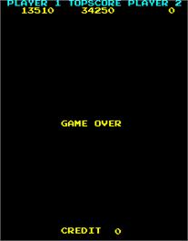 Game Over Screen for Mr. TNT.
