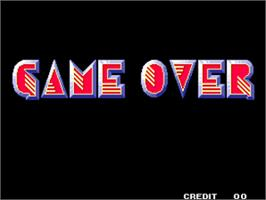Game Over Screen for Mutation Nation.