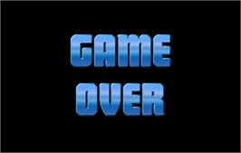 Game Over Screen for NBA Jam.