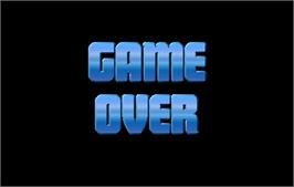 Game Over Screen for NBA Jam TE.