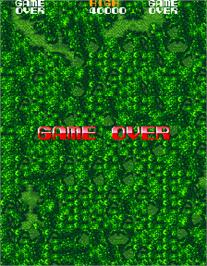 Game Over Screen for Namco Classic Collection Vol.1.
