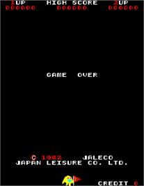Game Over Screen for Naughty Boy.