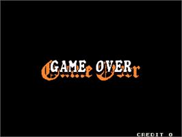 Game Over Screen for Neratte Chu.