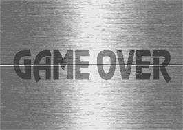 Game Over Screen for Nettoh Quiz Champion.