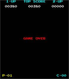 Game Over Screen for New York! New York!.