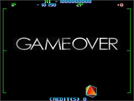 Game Over Screen for Night Raid.