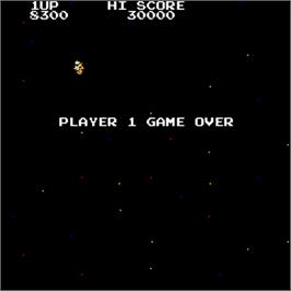 Game Over Screen for Night Star.
