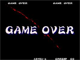 Game Over Screen for Ninja Master's - haoh-ninpo-cho.