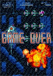 Game Over Screen for Nostradamus.