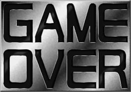 Game Over Screen for Operation Wolf 3.