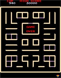Game Over Screen for Pac-Man & Chomp Chomp.