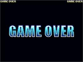 Game Over Screen for Panic Street.