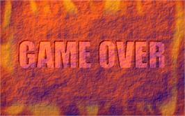 Game Over Screen for Pasha Pasha 2.