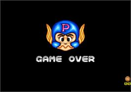Game Over Screen for Pass.