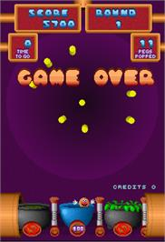Game Over Screen for Peggle.