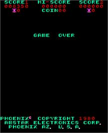 Game Over Screen for Phoenix Part 2.