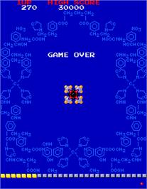 Game Over Screen for Phozon.