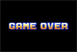Game Over Screen for Pipe Dream.