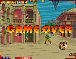 Game Over Screen for Pirates.