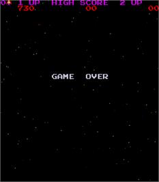 Game Over Screen for Pisces.