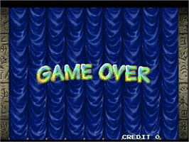 Game Over Screen for Point Blank 2.