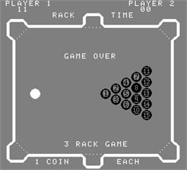 Game Over Screen for Poolshark.