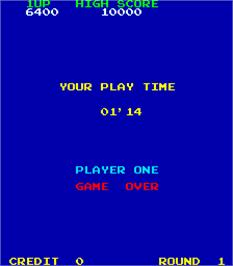 Game Over Screen for Pooyan.
