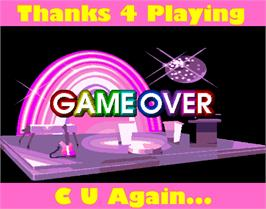 Game Over Screen for Pop'n Music 2.