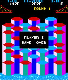 Game Over Screen for Popper.