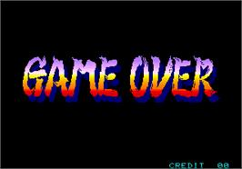 Game Over Screen for Power Instinct.