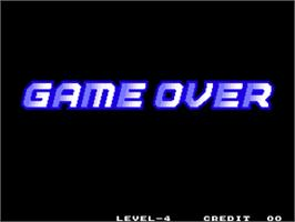Game Over Screen for Power Spikes II.