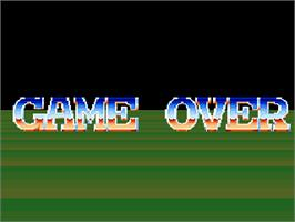 Game Over Screen for Power Wheels.