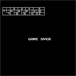 Game Over Screen for Pro Bowling.