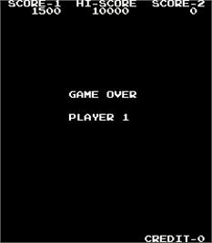 Game Over Screen for Progress.