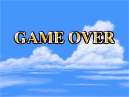 Game Over Screen for Prop Cycle.