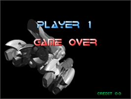 Game Over Screen for Pulstar.