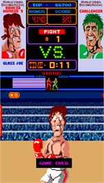 Game Over Screen for Punch-Out!!.