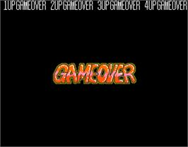 Game Over Screen for Punk Shot.