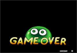 Game Over Screen for Puyo Puyo 2.