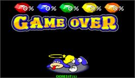 Game Over Screen for Puzz Loop 2.