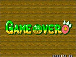 Game Over Screen for Puzzle Bobble 2 / Bust-A-Move Again.
