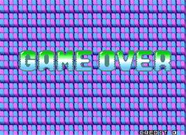 Game Over Screen for Puzzle Bobble 3.